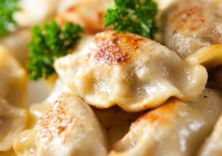 Pierogi.Polish christmas dish